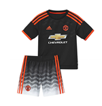 2015-2016 Man Utd Adidas Third Little Boys Mini Kit