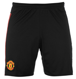 2015-2016 Man Utd Adidas Away Shorts (Black)
