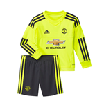 2015-2016 Man Utd Adidas Away Goalkeeper Little Boys Mini Kit