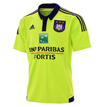 2015-2016 Anderlecht Adidas Away Football Shirt