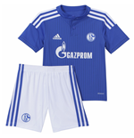 2015-2016 Schalke Adidas Home Mini Kit