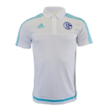 2015-2016 Schalke Adidas Polo Shirt (White)