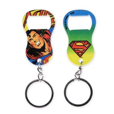 superman pop art keychain bottle opener for only r at merchandisingplaza uk. Black Bedroom Furniture Sets. Home Design Ideas
