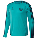 2015-2016 Chelsea Adidas EU Training Top (Vivid Mint)