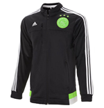 2015-2016 Ajax Adidas Anthem Jacket (Black)