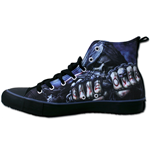 Game Over - Sneakers - Men's High Top Laceup