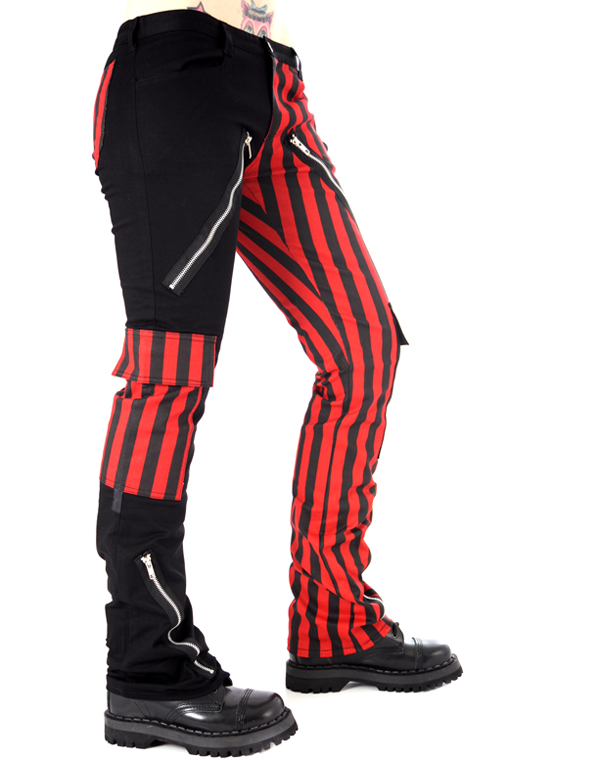 Black Pistol Freak Pants Stripe