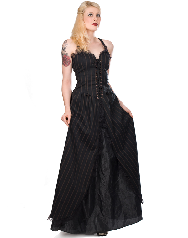 Aderlass Long Dress Steam Punk