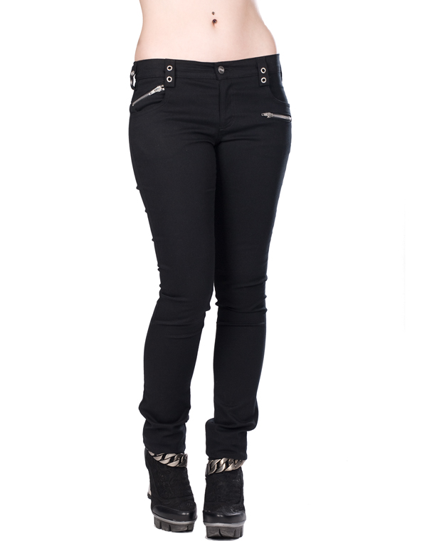 Aderlass Tight Zip Hipster Denim