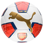 2015-2016 Arsenal Puma Fan Mini Football (White-Red-Blue)