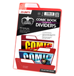 Ultimate Guard Premium Comic Book Dividers Red (25)