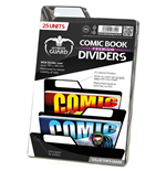 Ultimate Guard Premium Comic Book Dividers Black (25)