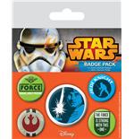 Star Wars Pin Badges 5-Pack Jedi