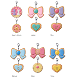 Sailor Moon Pretty Soldier Charm Patisserie Cookie Charms Assortment (6)
