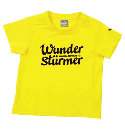 2015-2016 Borussia Dortmund Puma Minicats Tee (Yellow) - Infants
