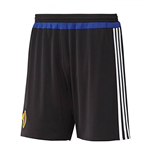 2015-2016 Basle Adidas Home Shorts (Black) - Kids