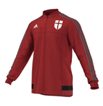 2015-2016 AC Milan Adidas Anthem Jacket (Red)