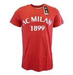 2015-2016 AC Milan Adidas Graphic Tee (Red)