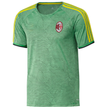 2015-2016 AC Milan Adidas EU Training Jersey (Green)