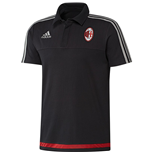 2015-2016 AC Milan Adidas Polo Shirt (Black)