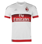 2015-2016 AC Milan Adidas Away Football Shirt