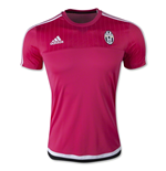 2015-2016 Juventus Adidas Training Shirt (Pink)