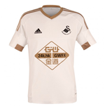2015-2016 Swansea City Adidas Home Football Shirt
