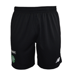 2015-2016 Celtic Training Knitted Shorts (Black)