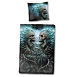Flaming Spine - Single Duvet Cover + UK And EU Pillow case