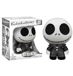 Nightmare Before Christmas Fabrikations Plush Figure Jack Skellington 14 cm