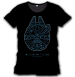 Star Wars Episode VII T-Shirt Millenium Falcon
