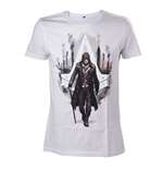 ASSASSIN'S CREED Syndicate Jacob Frye T-Shirt, Small, White