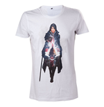 ASSASSIN'S CREED Syndicate Evie Frye T-Shirt, Extra Large, White