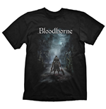 BLOODBORNE Men's Night Street T-Shirt, Large, Black