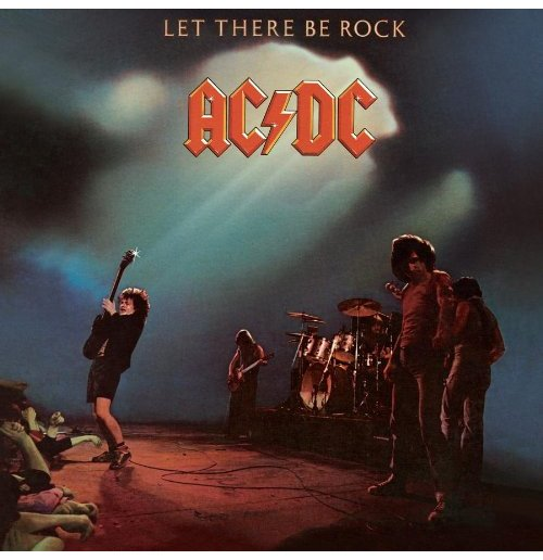 Vynil Ac/Dc - Let There Be Rock 180 Gram