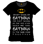 Batman T-Shirt Who Is Batman