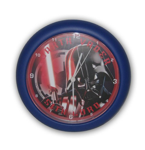 Star Wars Wall Clock Darth Vader 24 Cm For Only At