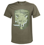 METAL GEAR SOLID Fox Hound Special Forces Group Men's T-Shirt, Extra Large, Beige
