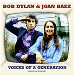 Vynil Bob Dylan / Joan Baez - Voices Of A Generation (2 Lp)