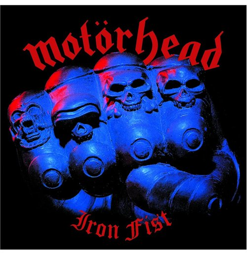 Official Vynil Motorhead Iron Fist Buy Online On Offer