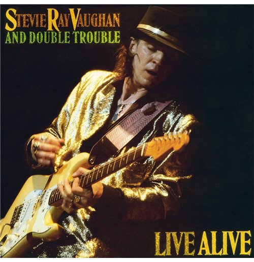 Vynil Stevie Ray Vaughan - Live Alive