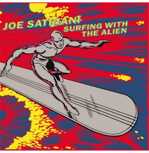 Vynil Joe Satriani - Surfing With The Alien