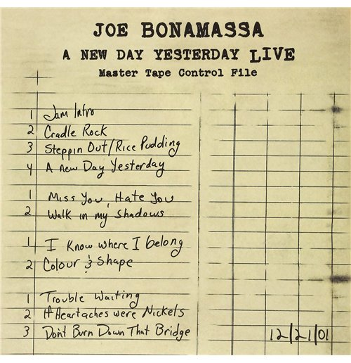 Vynil Joe Bonamassa - A New Day Yesterday Live (2 Lp)
