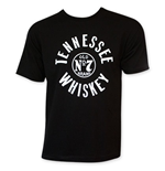JACK DANIELS Tennessee Whiskey Circle Logo T-Shirt