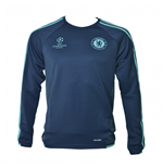 2015-2016 Chelsea Adidas EU Training Top (Rich Blue)