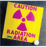 Vynil Area - Caution Radiation Area (2 Lp)
