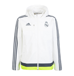 2015-2016 Real Madrid Adidas Travel Jacket (White)