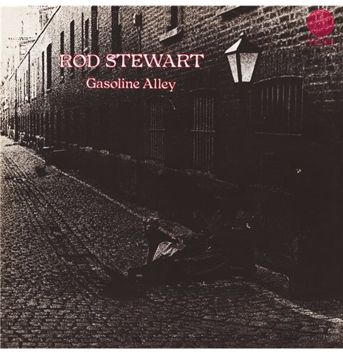 Official Vynil Rod Stewart Gasoline Alley Buy Online On