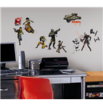 Star Wars Wall Decor Characters Glow In The Dark