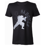 CAPCOM Street Fighter IV Hadoken Men's T-Shirt, Small, Black